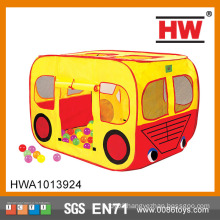 New Design Indoor Cloth Car Shaped Foldable Tent For Kid