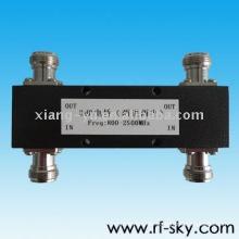 350-2500 MHz 3db 2 IN 2 OUT N / L29 rf koppler power Hybriden
