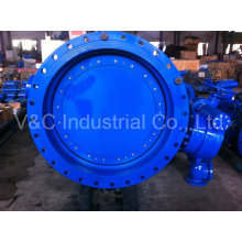 Cast Steel Eccentric Flanged Butterfly Valve