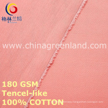 100%Cotton Twill Fabric for Woman Clothes (GLLML460)
