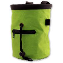 Rock Climbing Chalk Bag with Belt and Zippered Pocket for Climbing/Gymnastics/ Weight Lifting