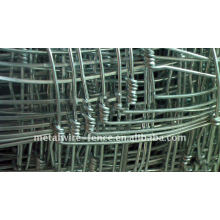galvanized grassland cattle fence