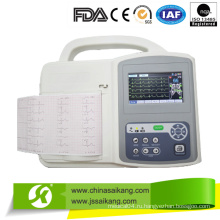 ЭКГ с сенсорным экраном (CE / FDA / ISO)