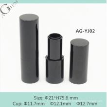 Alumínio vazio do AGPM AG-YJ02 redondo recipiente batom magnético