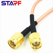 STA Antenna cable SMA Male To Male SMA with RG316 RG178 Pigtail Coaxial Cable