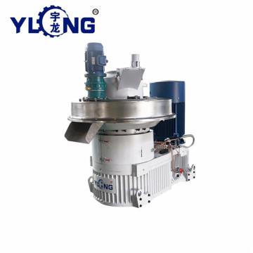 Yulong hard wood ring die pellet mill