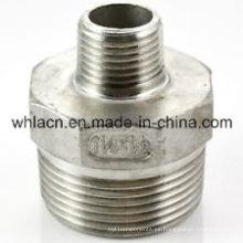 Adaptador de tubería de fundición de inversión de acero inoxidable (fundición a la cera perdida)
