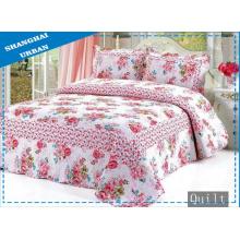 Постельное белье из 100% хлопка с цветочным принтом (Одеяло)