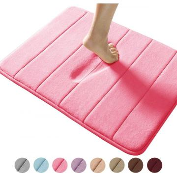 Comfity Small Memory Foam Bath Mat