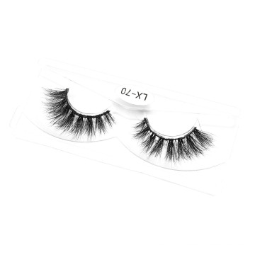 3D 5D 25mm Mink Eyelashes Real Mink Eyelashes with Wholesale Custom Packaging Boxes