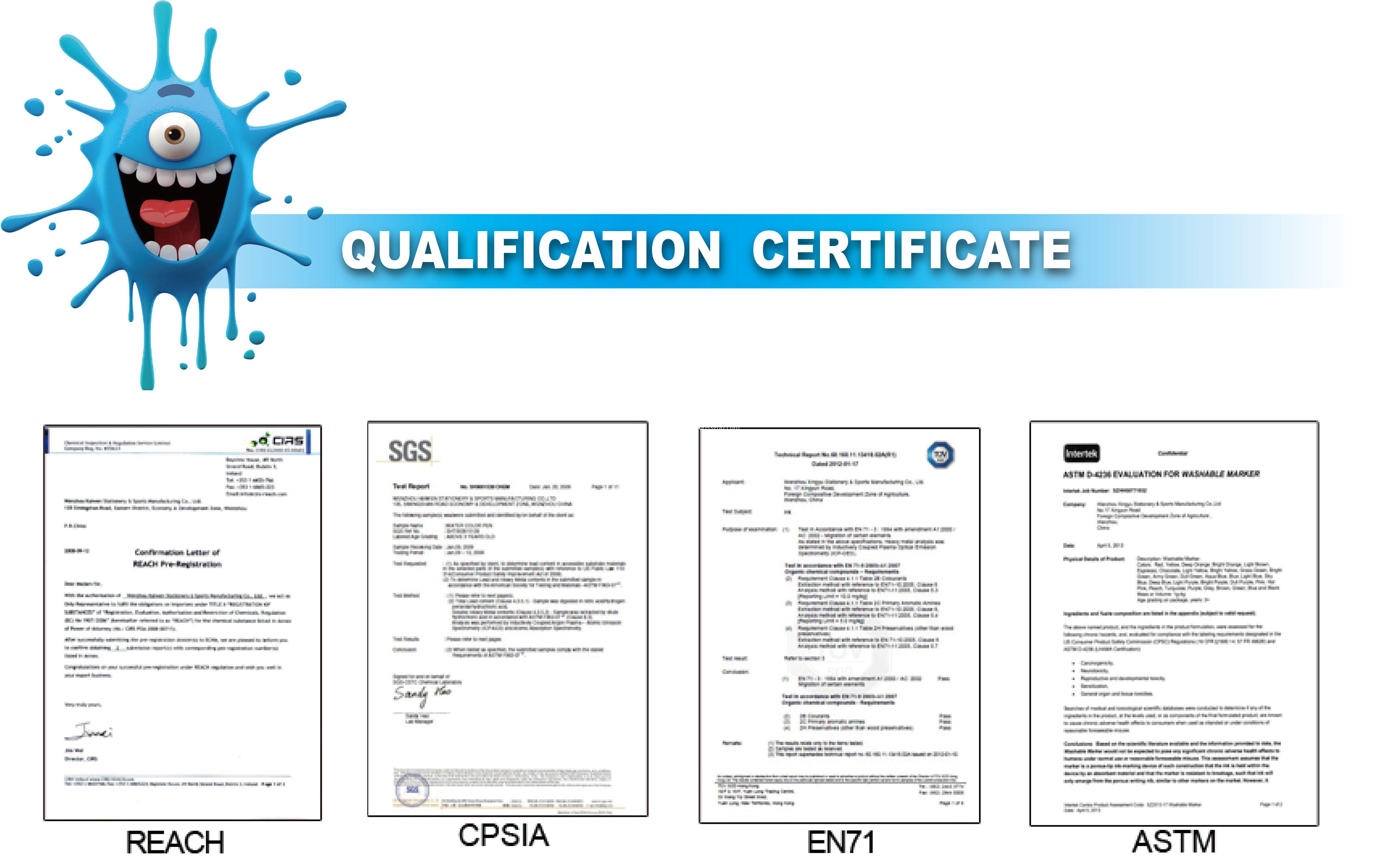 Qaulity Certificate