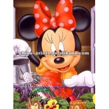 Minnie Maus Leinwand Geschenk