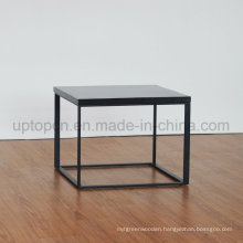 Simple Style Square Artificial Marble Side Table (SP-GT456)