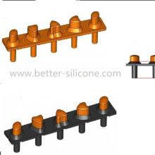 Botón de goma de silicona de dureza doble con precio competitivo