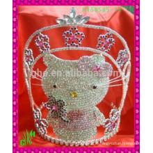 Vente en gros New Designs Rhinestone Crown, rhinestone pageant crown