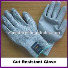 Порезостойкие уровень 5 рабочие перчатки с ПУ покрытием ZMR409