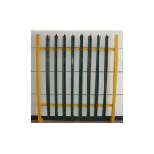 Clôture en acier de clôture de fer de clôture de palissade