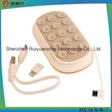 Haut-parleur Bluetooth 3 en1 et support pour banque et téléphone Pb1602