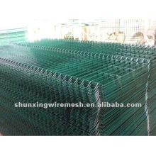 Дешевые ПВХ покрытием сварные сварные сетки забор панели