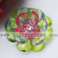 Handmade 54MM Acrylic Crystal Faceted Teardrop Beaded Flower