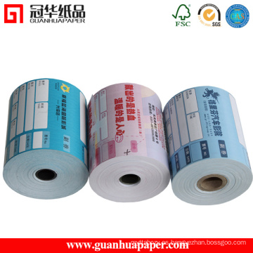Rollo de papel térmico certificado de ISO 76mm, 80mm para POS