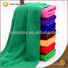 100 * 200 centímetros microfibra de cor verde esportes toalha microfiber banho toalha praia