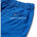 Shorts de planche de coton stretch bleu short de bain à séchage rapide