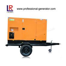 Trailer / Mobile Diesel Generator 30kw com sistema ATS