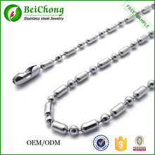 The Fashion Stainless Steel Ball Chain Necklace