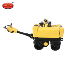 Gasoline Hand Hydraulic Double Drum Roller