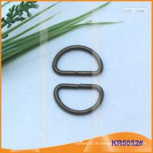 Innengröße 20mm Metallschnallen, Metallregler, Metall D-Ring KR5052