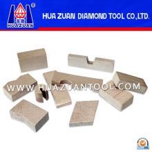 Segment de diamant pour la coupe de béton