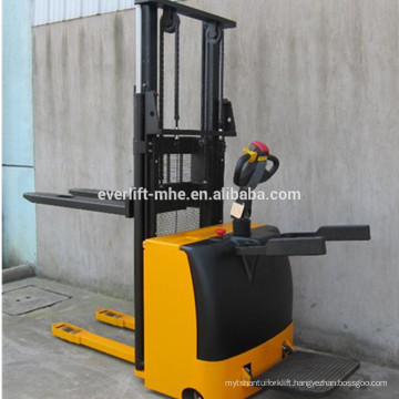 Brand new 1.6 to 3.5 meter 1.2 ton full electric powered stacker forklift with CE