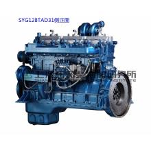 Двигатель G128, 206 кВт, Дизельный двигатель Shanghai Dongfeng для генераторной установки