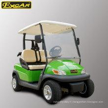 Chariot de golf électrique 2 places en gros