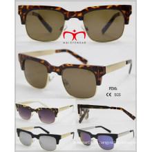2016 Модные горячие солнцезащитные очки продажи с металлическим храмом (WSP601523)