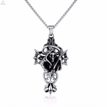 Best Price Sliver Skull Head Sickle Death Pendants Jewelry