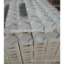 Refractario de alta temperatura RBSIC / SIC / Mullite / alúmina zirocnia cerámica saggar