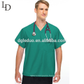 New designed wholesale doctor's clothes hospital short sleeve doctor uniform