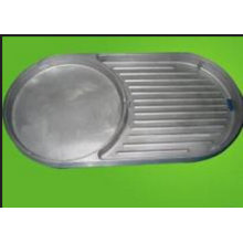 OEM Aluminum Alloy Diecasting Part for BBQ Plate