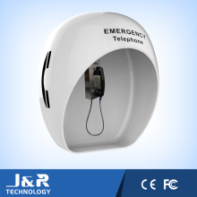 Capuche acoustique pour protection téléphonique, capot anti-corrosion robuste en tunnel
