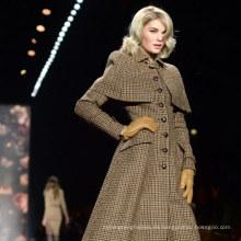 estilo de espiga de tela de lana genuina certificada Harris Tweed Stock clothing de Harris Tweed Supplier