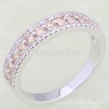 2018 фабрика Оптовая стерлингового серебра 925 желтый камень кольцо
