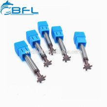 BFL Ultra Micro Grain T-Nut-Schaftfräser, T-Nut-Fräser zum Bearbeiten von Stahl