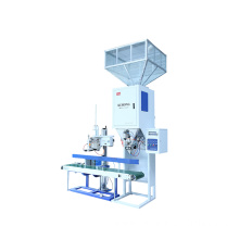Automatic packaging machine with weighing filling