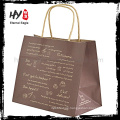 Hot selling kraft paper clothes packing bag with high quality