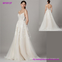 Special Design for Bridal Dress Hot Sale Fashion Lace Grenadine Wedding Dress