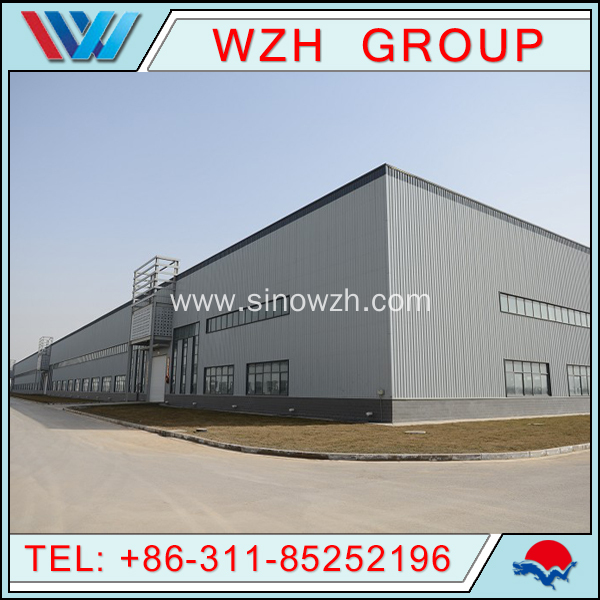 Light Steel Metal Poultry Structure Farms