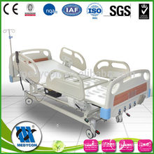 MDK-5618K(II) 5-Function electric medical beds with manual crank together