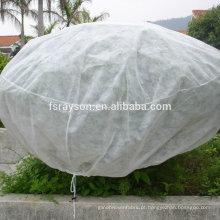 Vegetais não tecidos cobrem sacos para cobrir uvas
